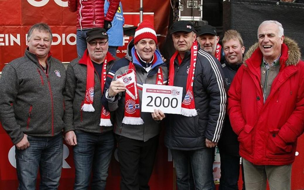 Marc Pircher wird 2000. Fanclubmitglied