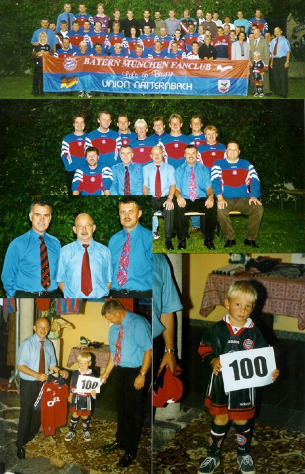 10 Jahre-Jubilum und 100. Mitglied
