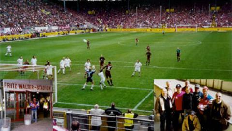 Auswärts-Bundesligaspiel in Kaiserslautern