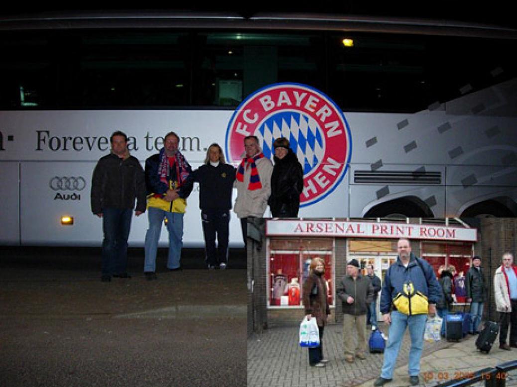 CL-Spiel Arsenal London – FC Bayern München