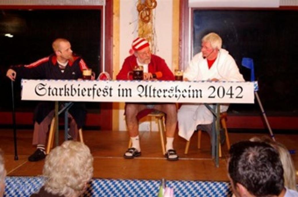 Starkbierfest bei den Pomperlbuam in Bad Griesbach