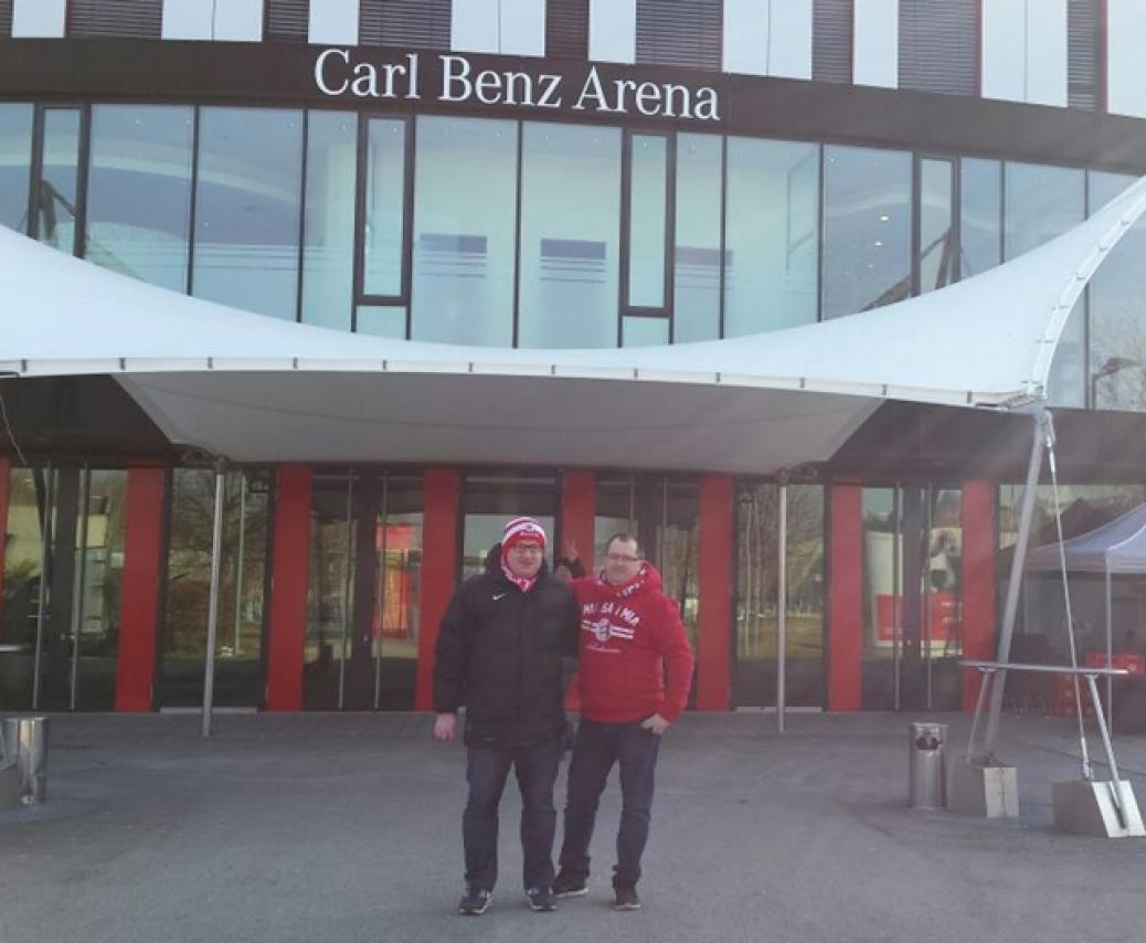Auswärtsspiel in Stuttgart