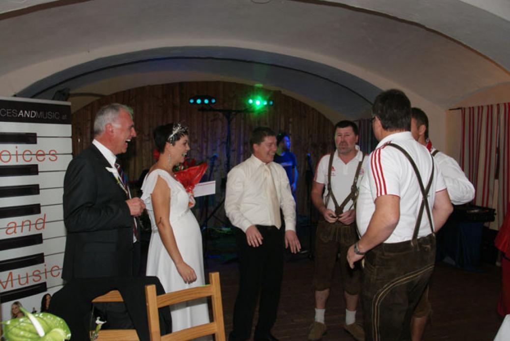 Hochzeit unseres Bayern-Fan Simone