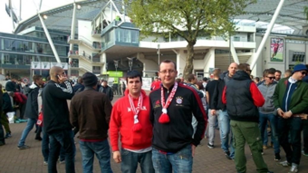 Auswärtsspiel in Leverkusen