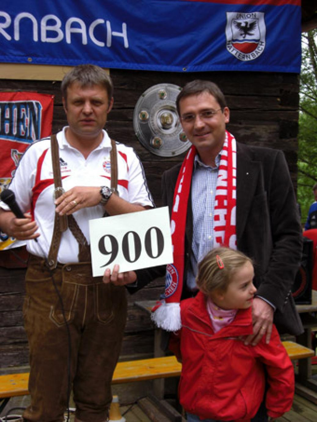 900. Mitglied unseres Fanclubs