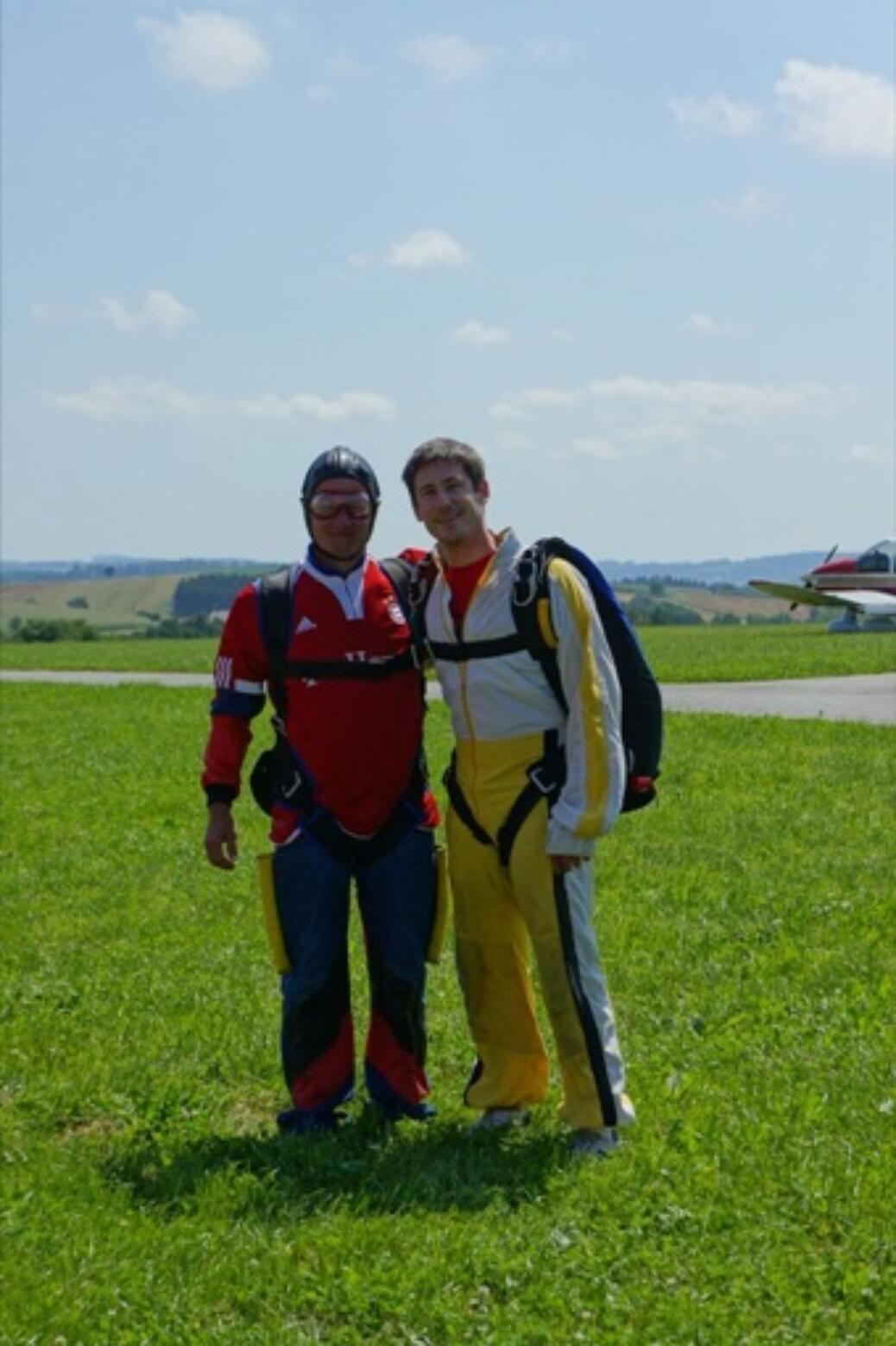 Bayern-Fan Hermann geht in die Luft