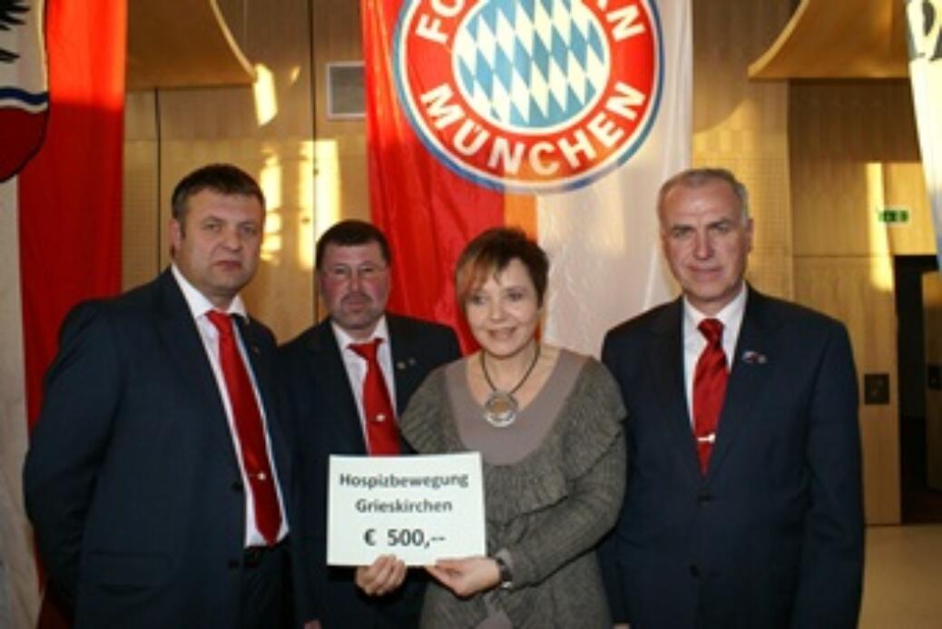 Spende an Hospitzbewegung Grieskirchen