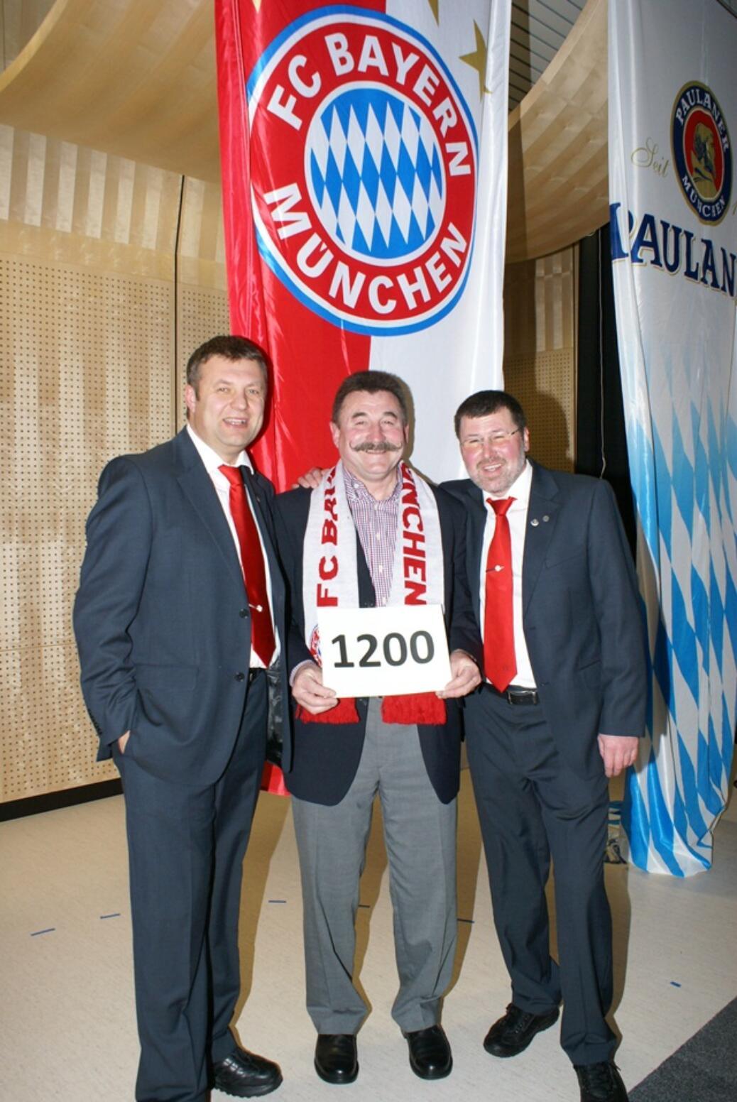 Weidlinger Joe wurde 1200. Mitglied.