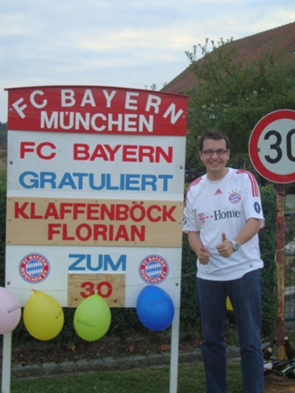 Klaffenböck Florian wurde 30!