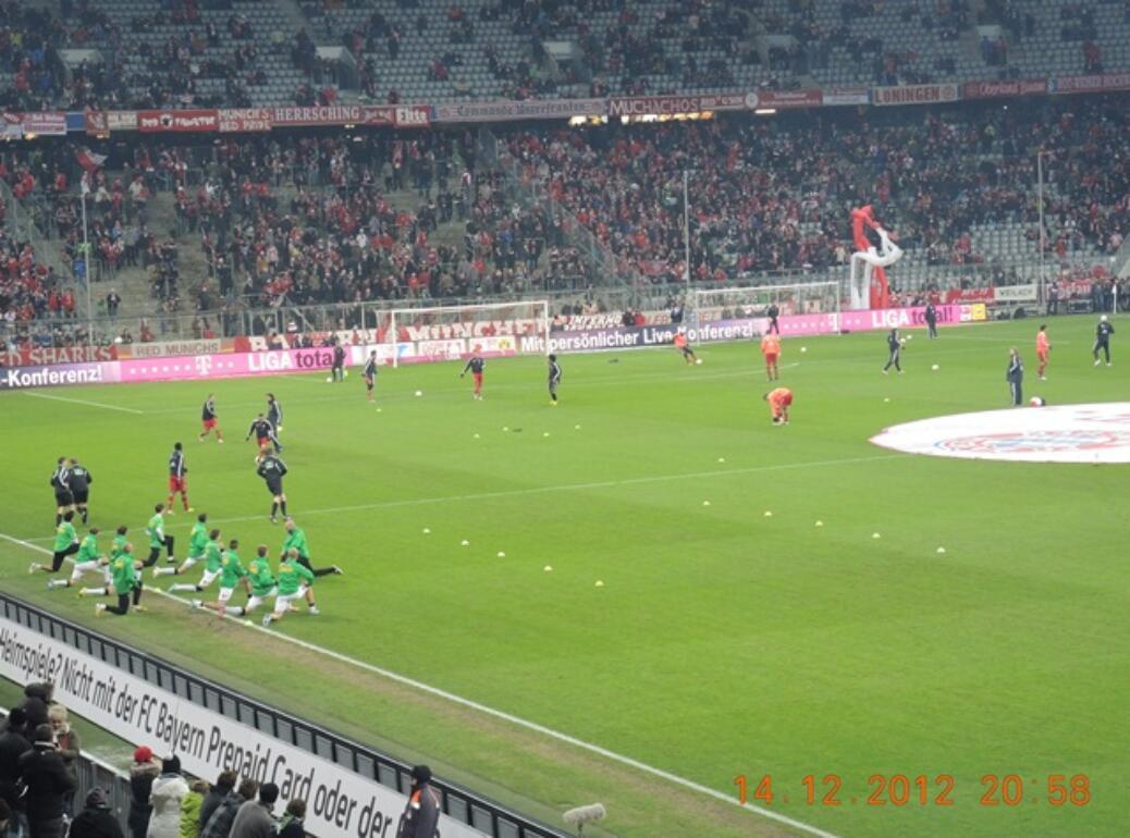 FC Bayern – Borussia Mönchengladbach