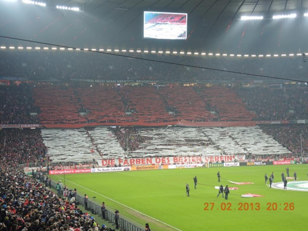 DFB-Pokal Viertelfinale FC Bayern – Borussia Dortmund