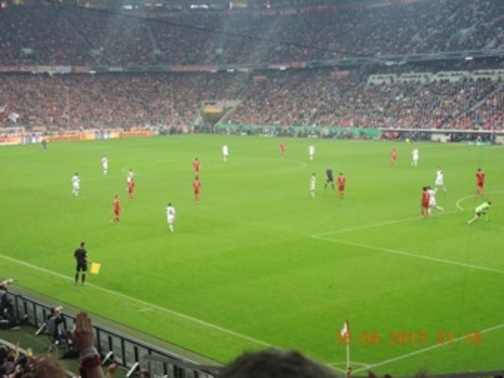 DFB POKAL Halbfinale gegen VfL Wolfsburg