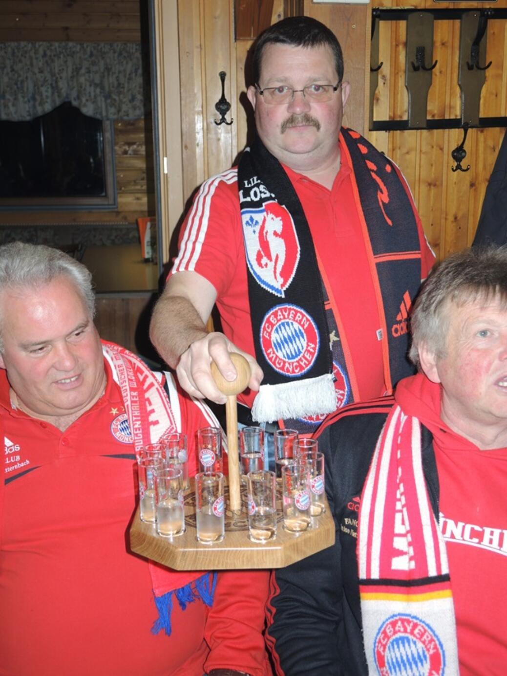 Champions League Finale beim Gerhard