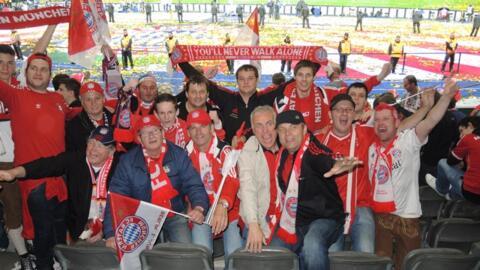 Pokalfinale Berlin FCB-Stuttgart