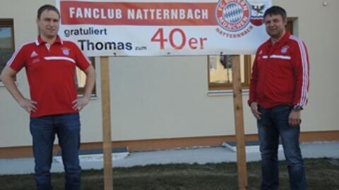 Thomas Wakolbinger feierte 40. Geburtstag