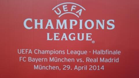 FC BAYERN – REAL MADRID