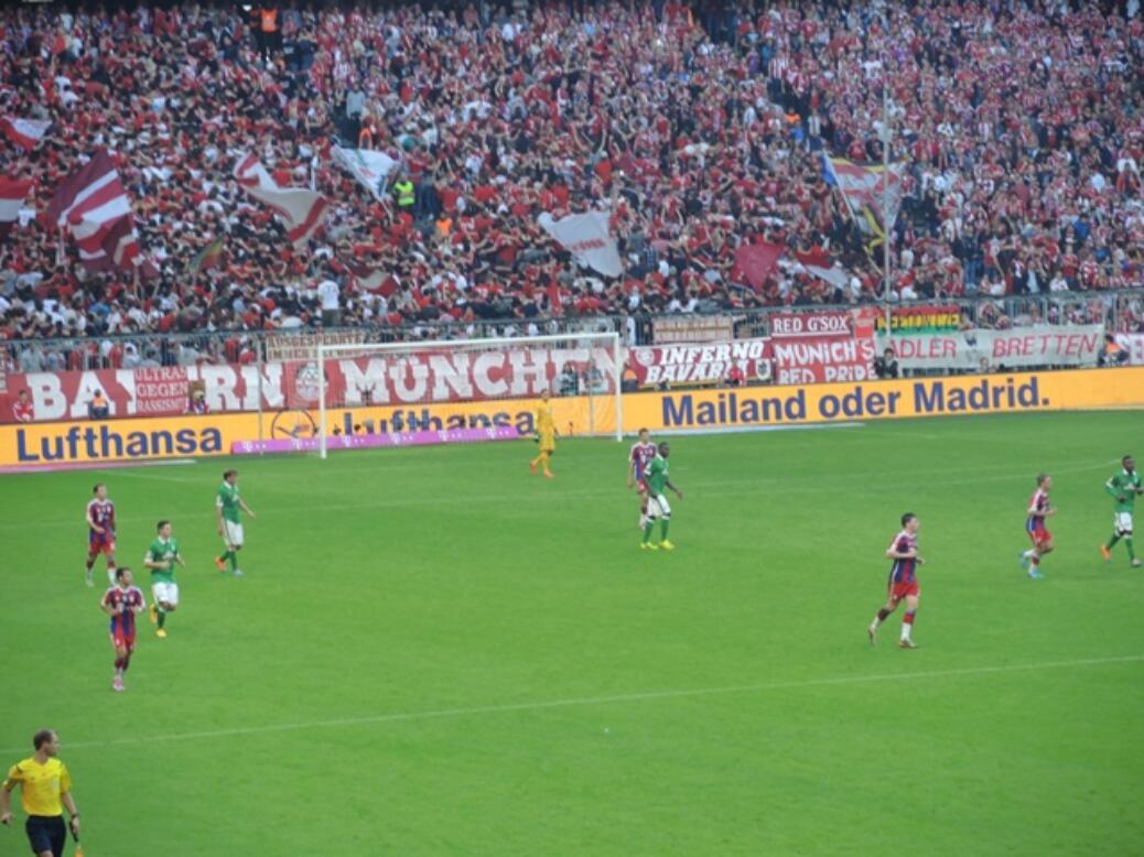 FC BAYERN – SV WERDER BREMEN
