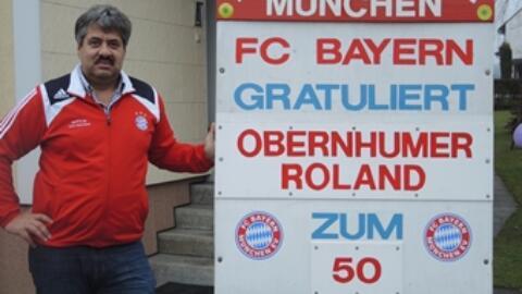 Obernhumer Roland feiert 50. Geburtstag