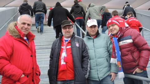 FC BAYERN   –  Borussia M`gladbach