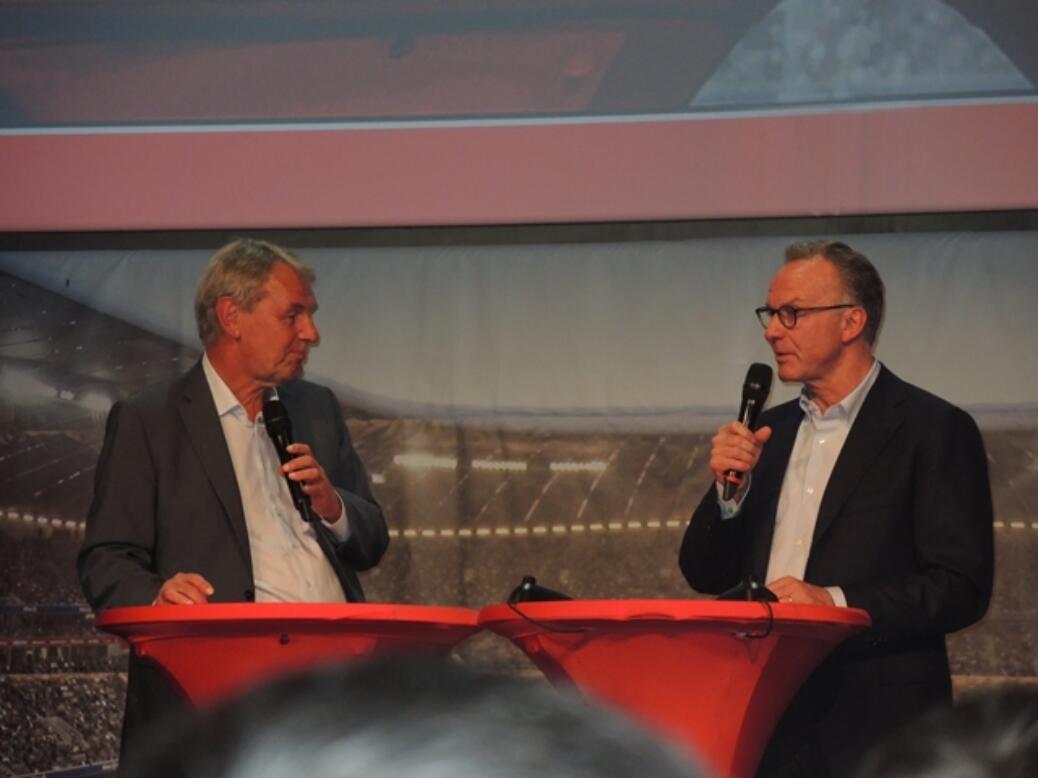 Fußball-Talk mit Karl-Heinz Rummenigge