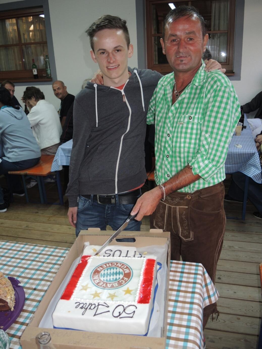 Braumann Joachim wurde 50!