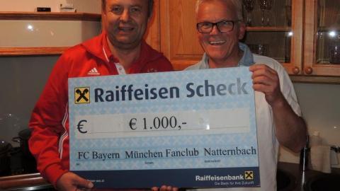 Spendenaktion für Reinhard Steidl