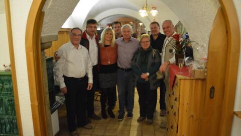 Kriegner Sepp feiert 60. Geburtstag