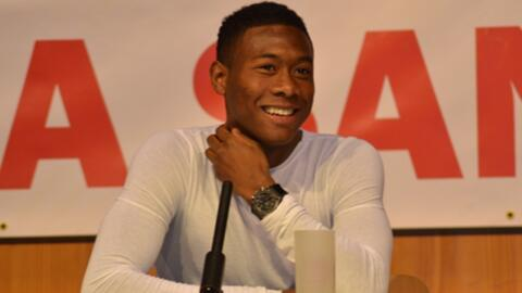 David Alaba bei Fanclub Besuch in Pocking