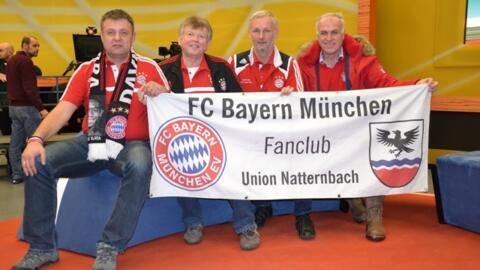 Fanclubmitglieder waren Studiogäste bei Sport am Sonntag