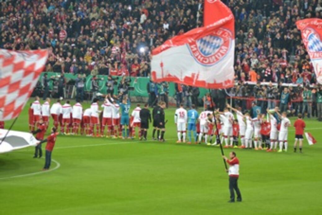 Pokalhalbfinale gegen  1.FC Kaiserslautern