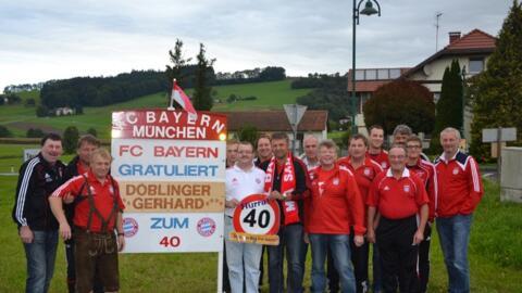 Gerhard Doblinger feiert 40. Geburtstag