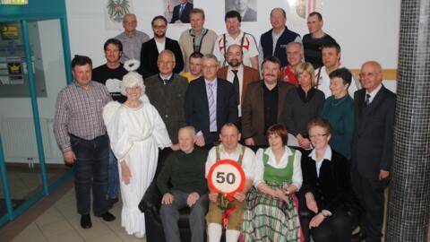 50. Geburtstag von Werner Scheichl