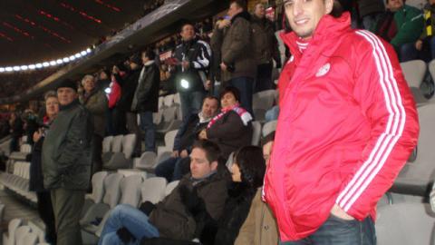 FCB – Dortmund  Eindrücke von Egger Didi aus der Sponsorenlounge