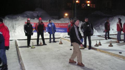 Großer Erfolg unseres Eisstockturniers