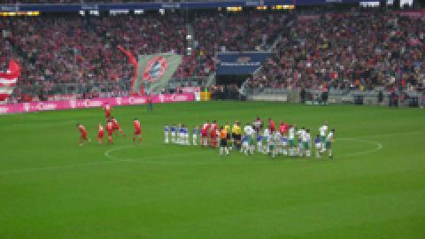 Sieg mit Traumfussball gegen Bremen