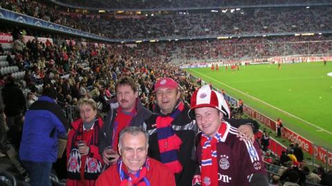 "Champions-League ""FC Bayern München – Inter Mailand"""