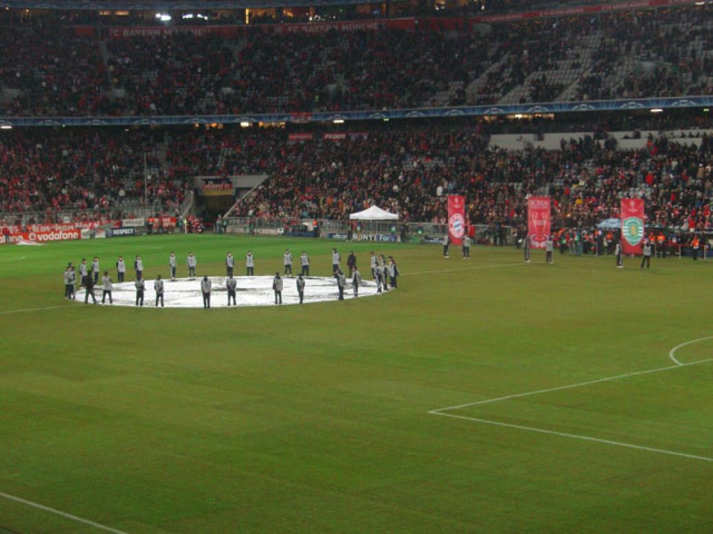 """Campions League"" FCB – Sporting Lissabon"