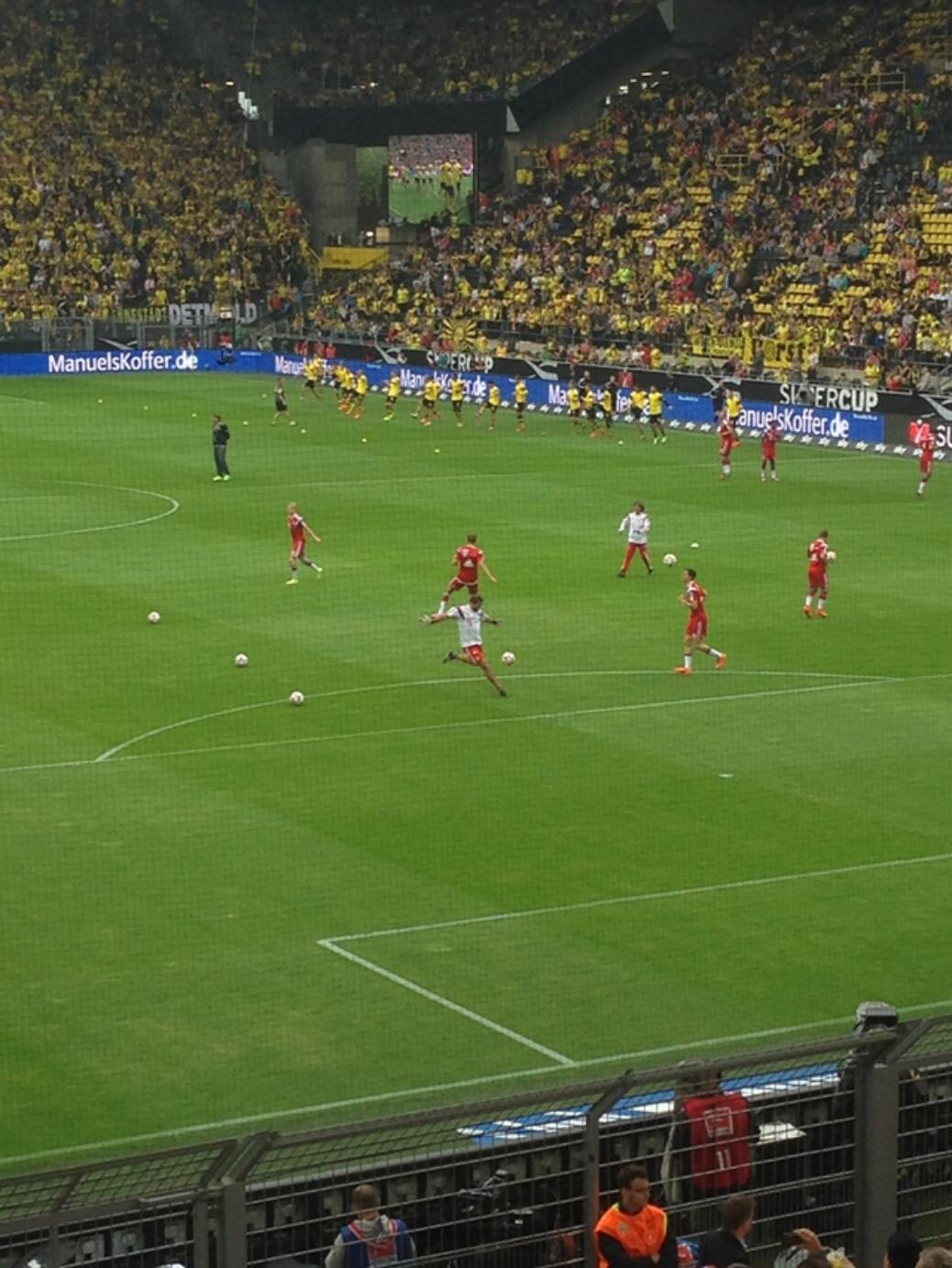 Supercup – BVB vs. FCB