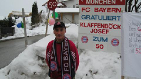 50igster Geburtstag unseres Verpflegungsmeisters Josef Klaffenböck