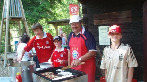 """""""Fanclub Sommerfest"""" am Indianerspielgelände in Natternbach….."""