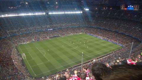 CL-Hinspiel in Barcelona