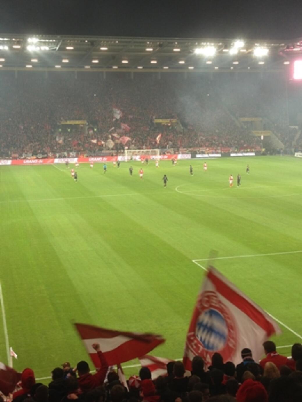 Auswärtsspiel in Mainz