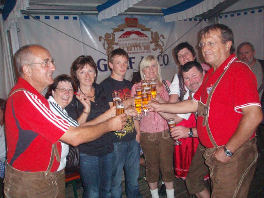 """Besuch des """"Karpfhammer Festes"""""""