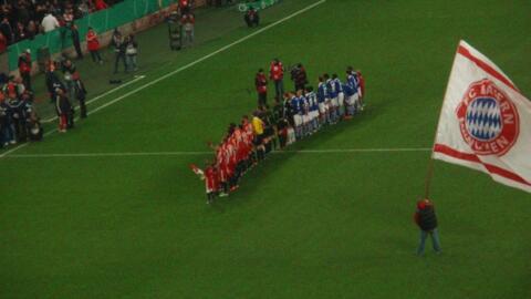 """FCB – FC Schalke 04  """"DFB-Pokal"""""""