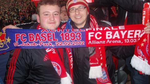 Achtelfinale der Champions League gegen den FC Basel