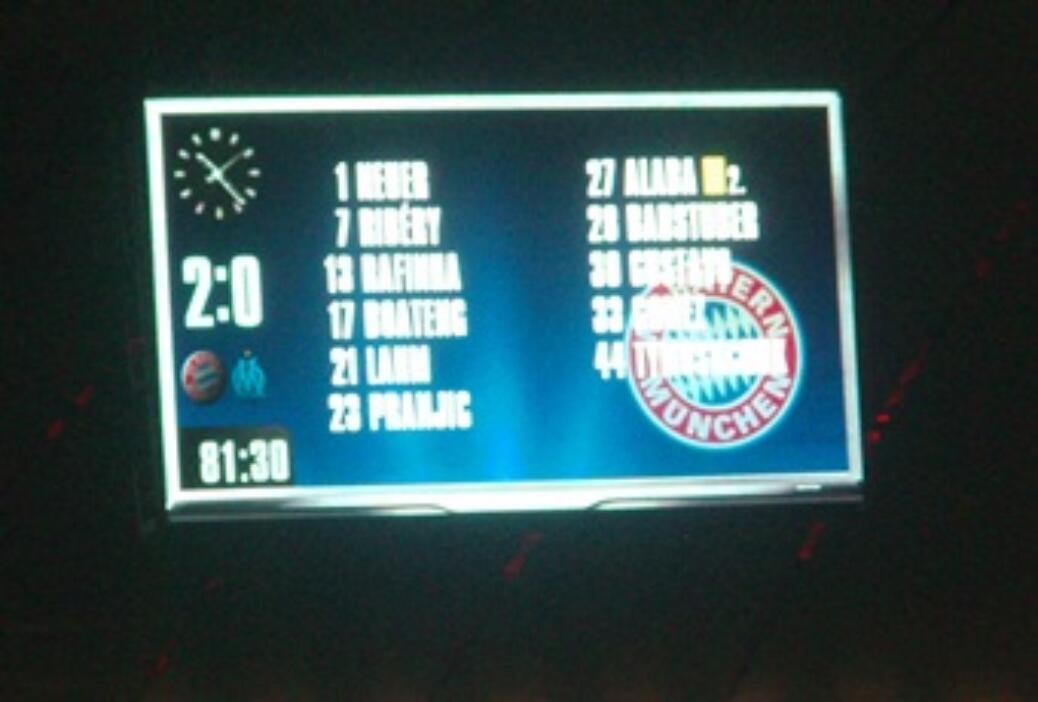 Viertelfinal-Rückspiel gegen Olympique Marseille