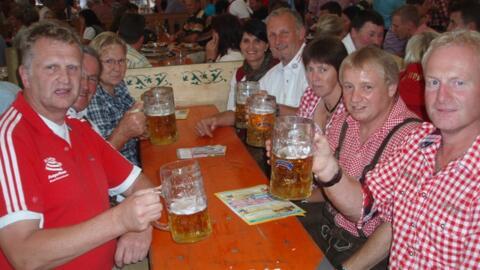 Fahrt zum Karpfhamer Fest