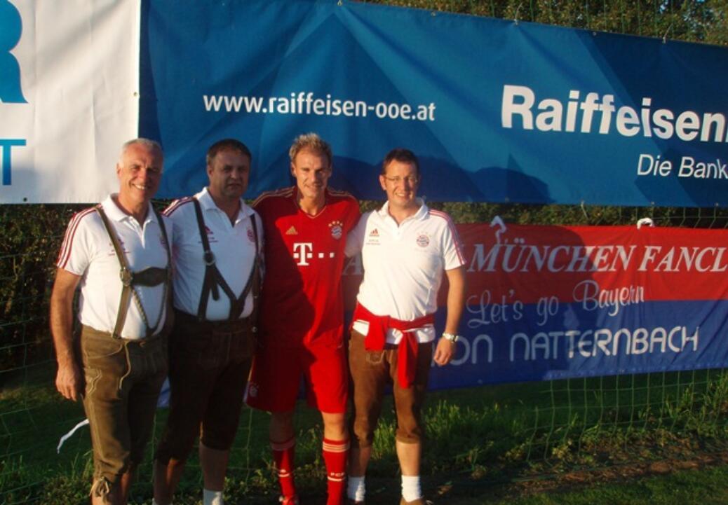 FCB Allstars zu Gast in Kollerschlag