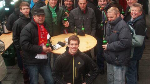 Fanclub-Staffel beim Silvesterlauf