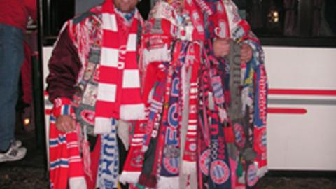 So sehen echte Bayern-Fans aus….